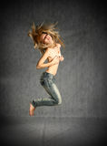 In Jeans Stock Images