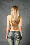 In Jeans Stock Photo