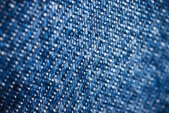Jeans. Texture of blue jeans detail Royalty Free Stock Photo