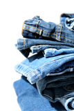 Jeans Stock Foto's