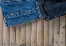 Jeans Arkivfoto