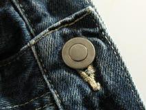 Jeans abbottonati Fotografia Stock Libera da Diritti
