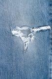 Jeans achtergrondtextuur, royalty-vrije stock afbeeldingen