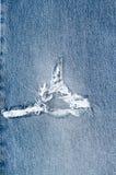 Jeans achtergrondtextuur, stock afbeelding