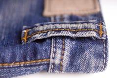 Jeans alla moda del denim immagine stock