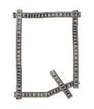 Jeans alphabet Q Stock Photo