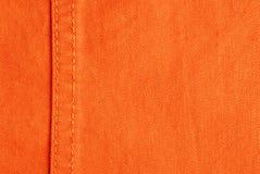 Jeans arancio Fotografia Stock Libera da Diritti