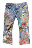 Jeans of an Artist Royalty Free Stock Image