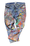 Jeans of an Artist Royalty Free Stock Photography