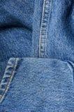 Jeans astratti del fondo Fotografia Stock Libera da Diritti