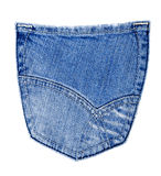 Jeans back pocket Royalty Free Stock Photo