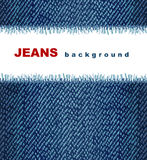 Jeans background. Dark indigo jeans background. Illustration Royalty Free Stock Image
