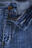 Jeans background. Ornament, embroidery, srtasses Stock Images