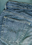Jeans background. Royalty Free Stock Photos