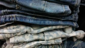 Jeans background Stock Photos