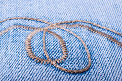 Jeans background close up Stock Images