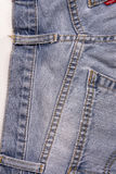 Jeans background, Denim jeans texture Stock Images
