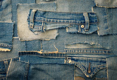 Jeans background Stock Photo