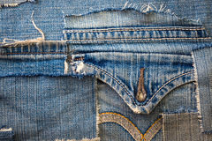 Jeans background Royalty Free Stock Photos