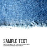 Jeans background texture with blank space Royalty Free Stock Images