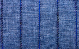 Jeans Background With Vertical Lines Stock Image