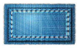 Jeans banner Royalty Free Stock Images