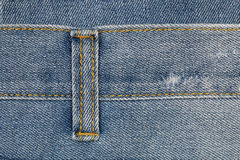 jeans belt hole for pattern Stock Photography