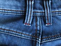Jeans Blauwe Achtergrond - Voorraadfoto's Royalty-vrije Stock Afbeeldingen