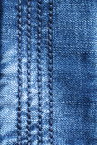Jeans Blauwe Achtergrond - Voorraadfoto's Royalty-vrije Stock Fotografie
