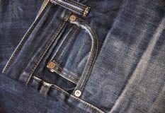 Jeans bleknar Royaltyfria Foton