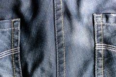 Jeans bleu-foncé Photos stock