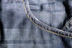 Jeans bleu-foncé Images stock