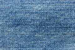 Jeans bleus de denim Photos libres de droits