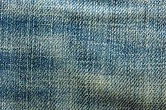 Jeans bleus de denim Image stock