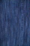 Jeans bleus texture, fond de denim Photos libres de droits