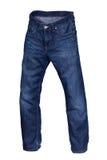 Jeans blu scuro Immagini Stock
