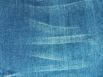 Jeans blue color background Stock Images