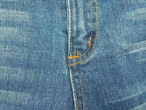 Jeans blue color background Stock Photos