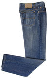 Jeans. Blue Jeans on a background Stock Images