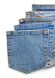 Jeans blue pocket Royalty Free Stock Image