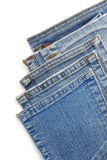 Jeans blue pocket Stock Images