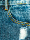 Jeans. Blue jeans texture or background Stock Photos