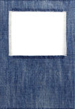 Jeans blue texture on white. Background royalty free stock photos