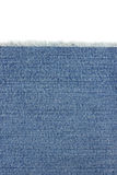 Jeans blue texture on white. Background stock photo