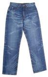 Jeans Blues-jean sur un fond Photo libre de droits
