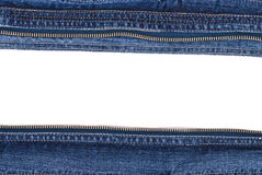 Jeans border Stock Photo