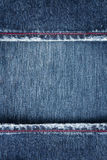Jeans border Royalty Free Stock Image