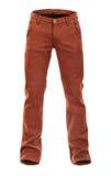 Jeans bruns volumineux vides image libre de droits