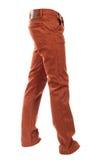 Jeans bruns volumineux vides images libres de droits