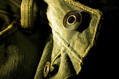 Jeans button Stock Images